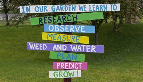 School Gardens - Rogers Elementary STEM Magnet School ... M Letter In Water
