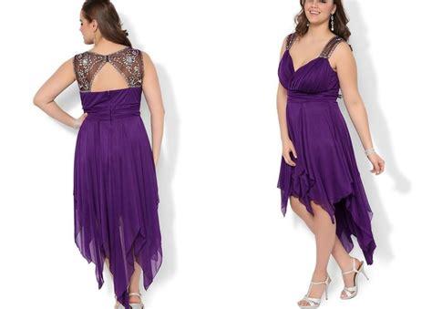 Flow Sequin Dress For Big Size by Plus Size Purple Formal Dresses Pluslook Eu Collection