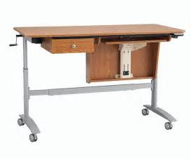 inspira electric multi lift sewing table oak only 104