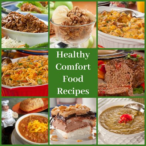 comfort food recipes for two top 10 healthy comfort food recipes