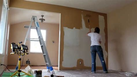 behr paint colors arabian sand painting the living room time lapse