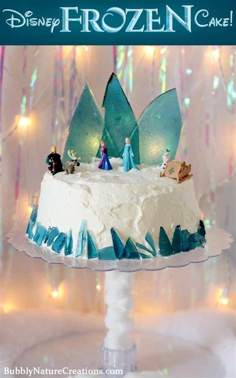 disney frozen cake ice cream cake sprinkle  fun