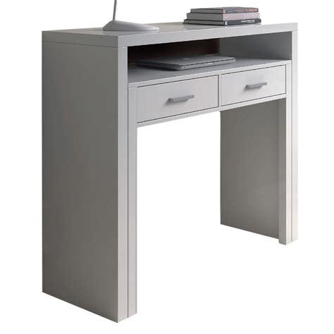 salva scrivania mobile scrivania scrittoio a scomparsa bianco 004582bo