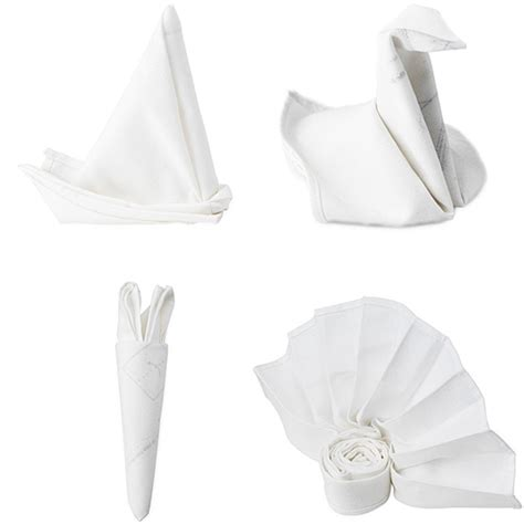 origami napkins them or them popsugar food