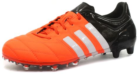 football shoes size new adidas ace 15 1 fg ag leather mens football boots all