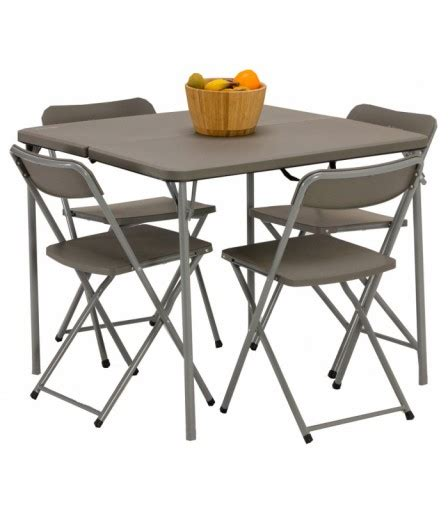 Folding Table Chair Set Vango Orchard Folding Table And Chair Set Cing Supplies