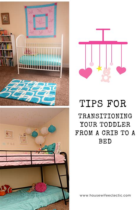 How To Transition From Crib To Bed Tips For Transitioning Your Toddler From A Crib To A Bed Eclectic