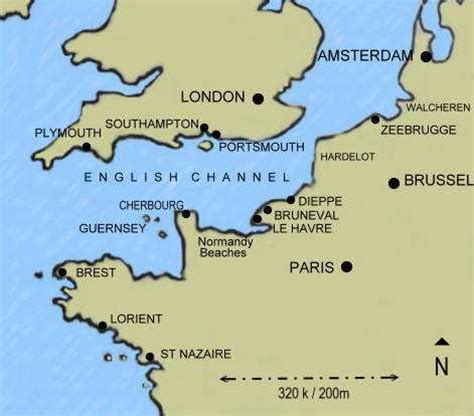 channel map operation jubilee the disaster at dieppe overview map