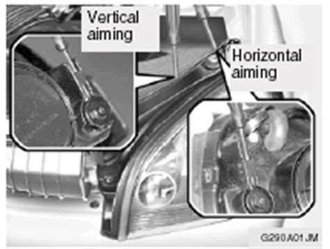 Headlight Aiming Adjustment Do It Yourself Maintenance