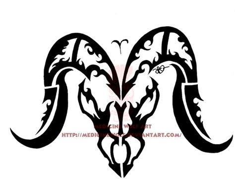 aries tribal aries tribal by ikaikadesign on deviantart