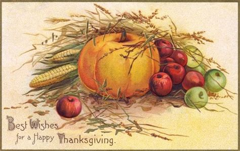 Thanksgiving Free Clip Vintage by Thanksgiving Free Vintage Illustrations