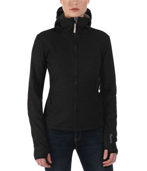 bench jacket bench competence b lightweight shell jacket in black lyst