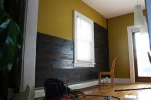 Accent Wall Shiplap Installing Shiplap In Our Dining Room Merrypad