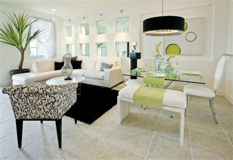 interior design esszimmer moderne schwarze len schirme in interior design mit stil