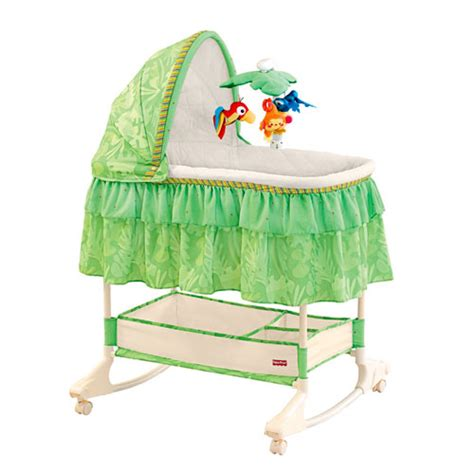 fisher price rainforest bassinet with mobile walmart
