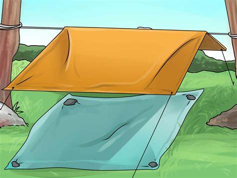 come costruire una tenda da sole come costruire una tenda 6 passaggi illustrato