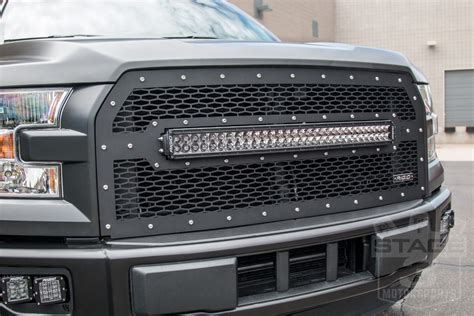 2017 f150 led light bar grille 2015 2017 f150 rigid industries rds series road led