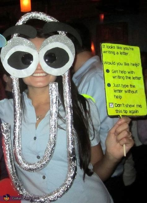 clippy costume office parties creative  college parties