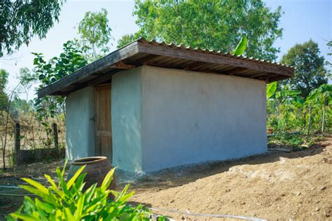 Earthbag House For Sale by Earthbag House Finished Building
