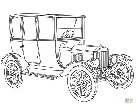 printable coloring pages of old cars printable coloring pages old school cars coloring home