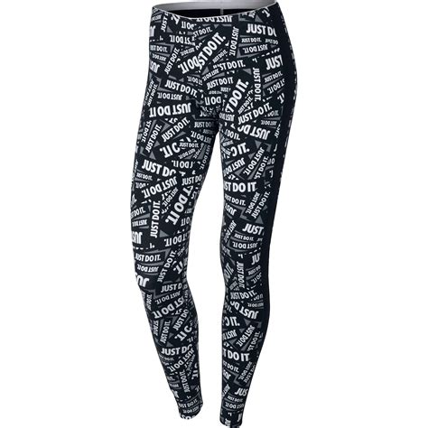 A34 Motif Adidas Legging nike just do it in black white for