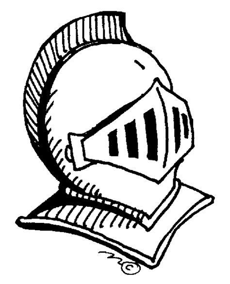 knight helmet coloring page knight clipart clipart best