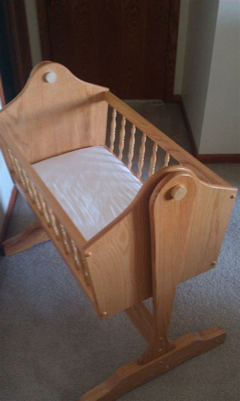 Handmade Bassinet - custom wood bassinet isaiah