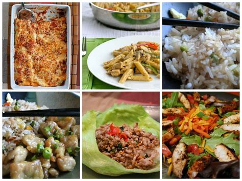 printable easy dinner recipes 1000 images about meal plans on pinterest weekly meal