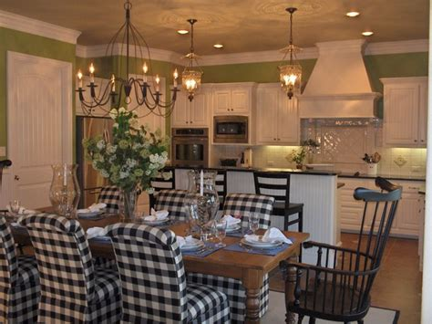 updated transitional country kitchen traditional dining room dallas mizell moore interiors dallas