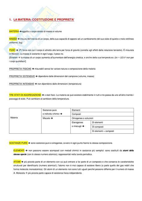 test di chimica generale chimica generale ed organica