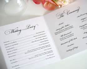 ceremony programs wedding medallion monogram wedding ceremony programs wedding programs by shine