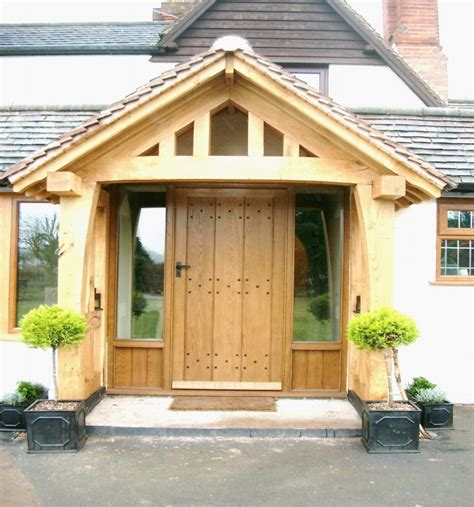 porch design oak porch on pinterest door canopy barn homes and hand made