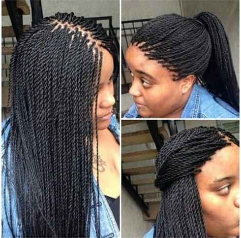 microtwist hair in 2018 braids senegalese