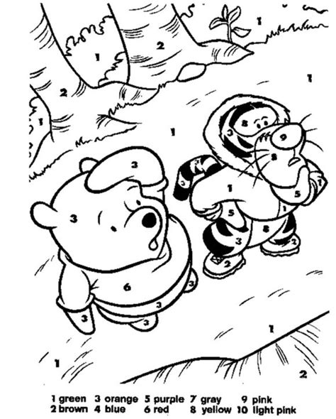 disney coloring pages by numbers coloring pages color by number disney 101 coloring pages