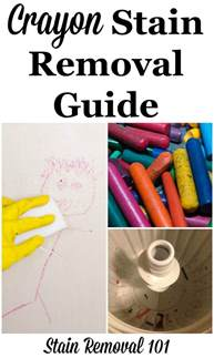 Crayon In Dryer How To Get Out Of Clothes Crayon Stain Removal Guide For Clothing Upholstery