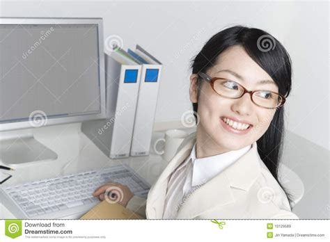 Japanese Office by Japanese Office Royalty Free Stock Images Image