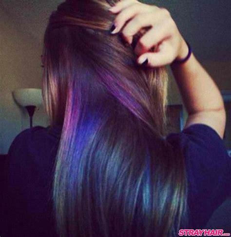 what is an underlayer hair cut 25 best ideas about peekaboo hair colors on pinterest