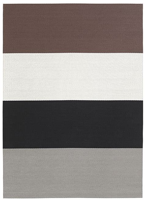 woodnotes rugs striped rectangular paper yarn rug fourways by woodnotes design ritva puotila