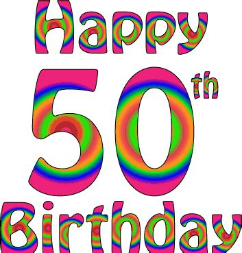 50th birthday images happy 50th birthday images clipart best