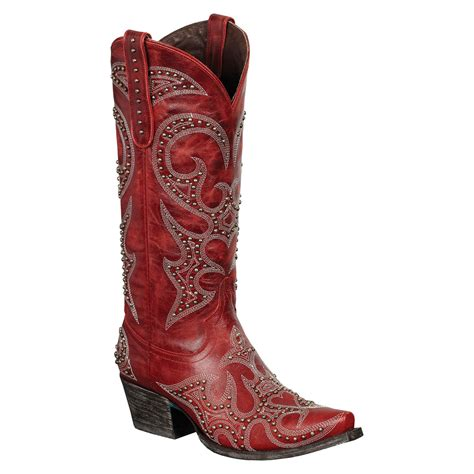 womans country boots lovesick stud s cowboy boots
