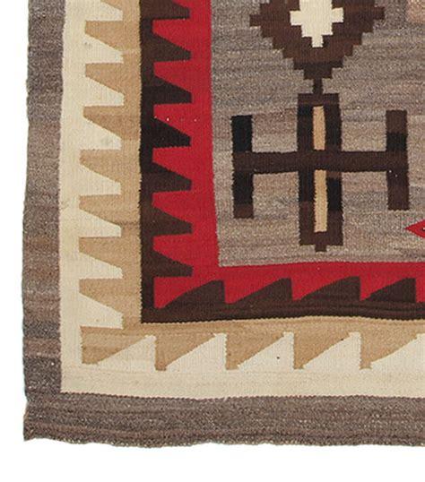 Vintage Navajo Rugs by Vintage Navajo Rug Ganado Trading Post Circa 1935 For