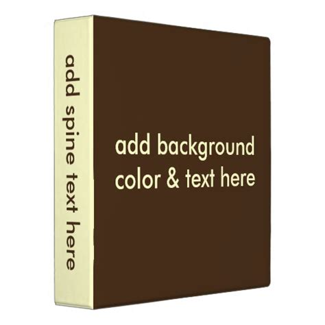 binder spine template binder spine template images