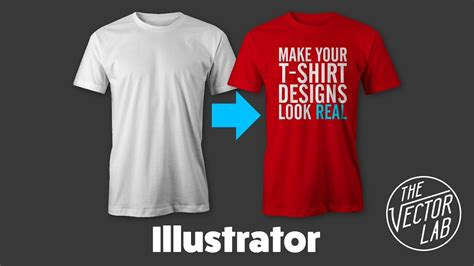 how to design a shirt using adobe illustrator mock up t shirt designs in adobe illustrator youtube