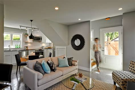 kitchen attached to small family room small open kitchen how to decorate a kitchen that s also part of the living room