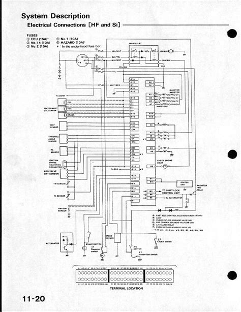 2001 honda civic wiring diagram wiring diagram and