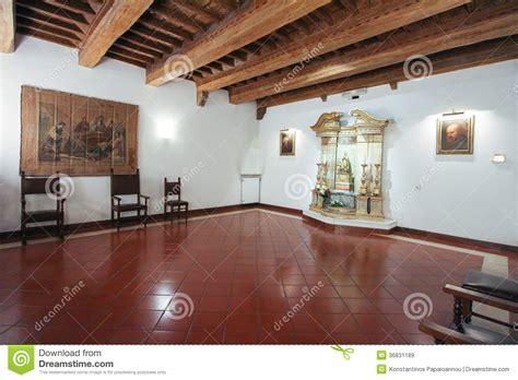 casa di santa romana la casa di santa romana a roma immagine stock