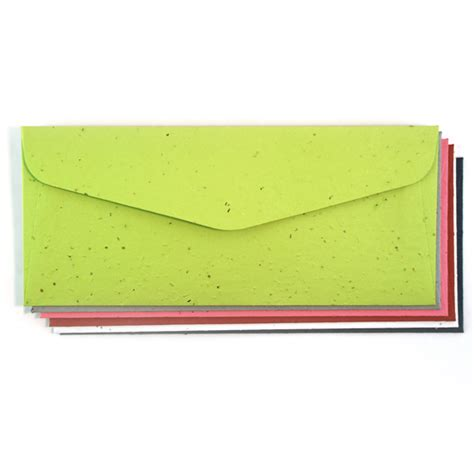 Handmade Paper Envelope - no 10 plantable handmade envelope envelopes catalog