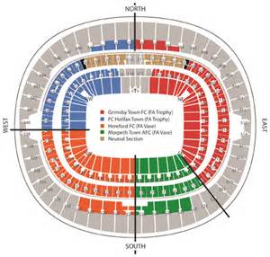 The Fa Vase Results Tickets Update Wembley Seating Plan Hereford Fc The