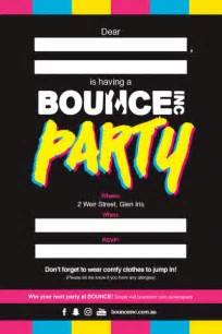 bounce invitations cimvitation