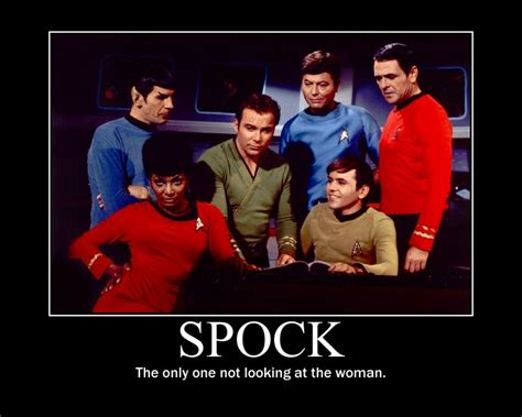 Star Trek Tos Memes - spock motivational poster by rainycloud900 on deviantart